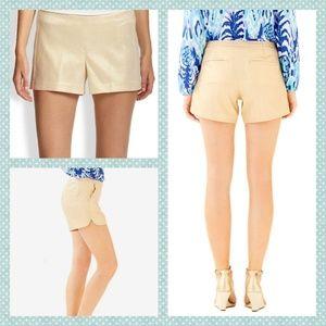 "Lilly Pulitzer Metallic Kasia 5"" Shorts"